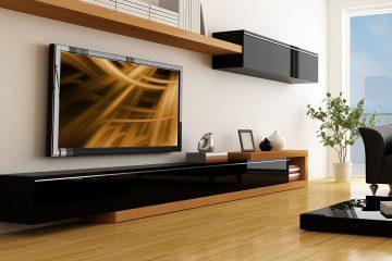 חנות סטריאו לשיווק מוצרי מערכת קולנוע ביתית כולל טלוויזיות
